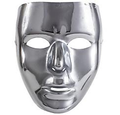 Basic Silver Face Mask