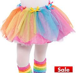 Girls Rainbow Fairy Tutu