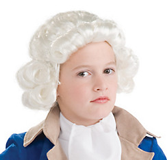 Child Colonial Wig