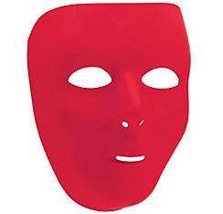 Basic Red Face Mask