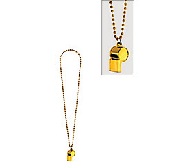 Yellow Whistle Necklace