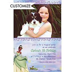Princess and the Frog Custom Photo Invitation