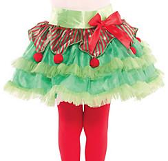 Girls Elf Tutu