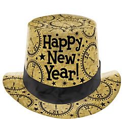 Prismatic Gold Top Hat