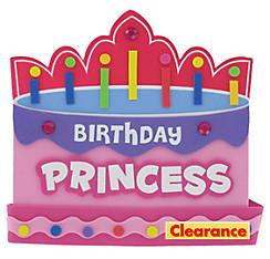 Pink Foam Birthday Princess Crown