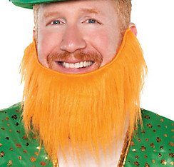 Ginger Leprechaun Beard