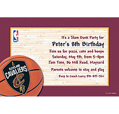 Cleveland Cavaliers Custom Invitation