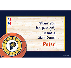 Indiana Pacers Custom Thank You Note