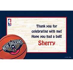New Orleans Pelicans Custom Thank You Note