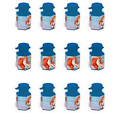 Little Mermaid Mini Bubbles 12ct