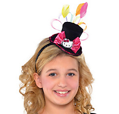 Hello Kitty Top Hat Fascinator
