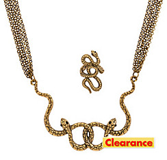 Snake Jewelry Set