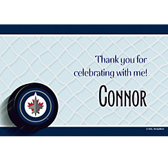 Winnipeg Jets Custom Thank You Note