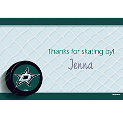 Dallas Stars Custom Thank You Note