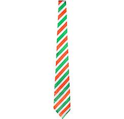 Irish Flag Striped Tie