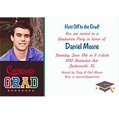 Made The Grade Custom Photo Invitation