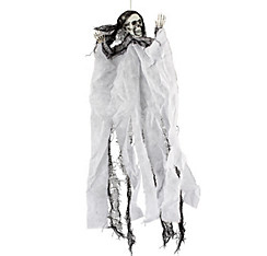 Hanging White Skeleton Reaper