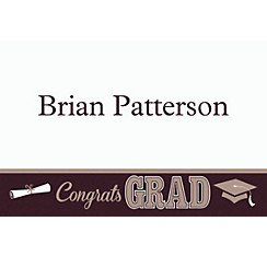 Graduating Class Custom Thank You Note