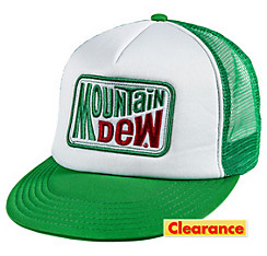Mountain Dew Trucker Hat