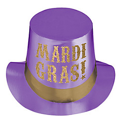 Mardi Gras Top Hat