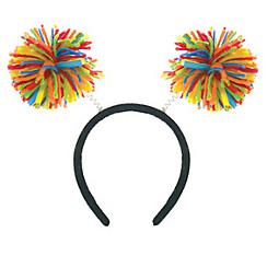 Rainbow Pom-Pom Head Bopper