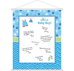 It's a Boy Baby Shower Sign-In Sheet