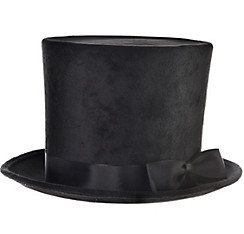 Victorian Black Top Hat Deluxe