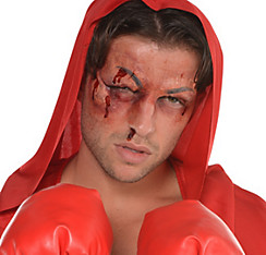 Rocky Balboa Black Eye Prosthetics - Rocky