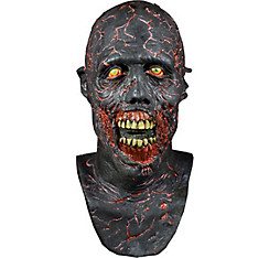 Charred Zombie Mask - The Walking Dead