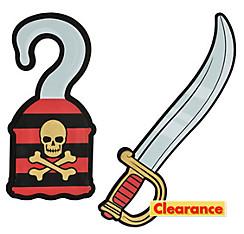 Child Foam Pirate Sword & Hook