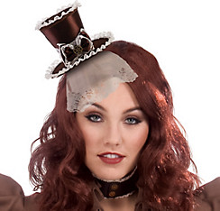 Steampunk Top Hat Headband