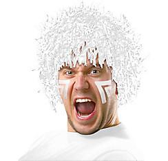 White Tinsel Wig