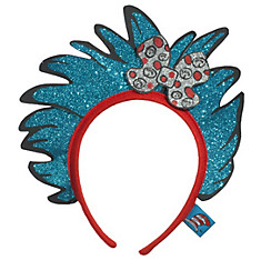 Child Glitter Thing 1 & Thing 2 Hair Headband - Dr. Seuss