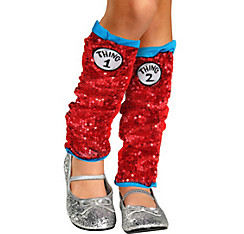 Child Sparkle Thing 1 & Thing 2 Leg Warmers - The Cat in the Hat