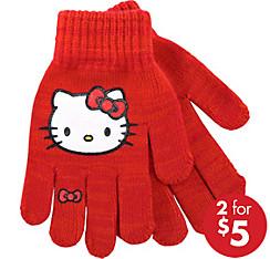 Child Hello Kitty Gloves