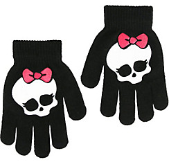 Child Monster High Skullette Gloves