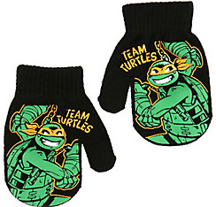 Child Michelangelo Mittens - Teenage Mutant Ninja Turtles