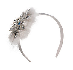 Snowflake Fascinator Headband