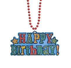 Bright Birthday Necklace