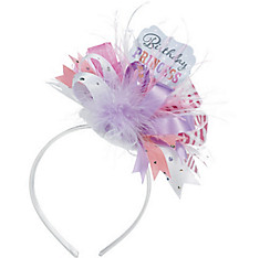 Pink Birthday Princess Headband