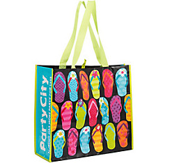 Bright Flip Flop Tote Bag