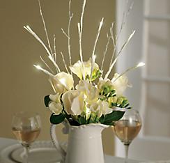 Light-Up White LED Branch