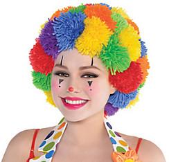 Pom-Pom Clown Wig