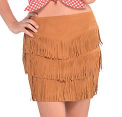 Cowgirl Fringe Skirt