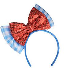 Child Dorothy Bow Headband - Wizard of Oz