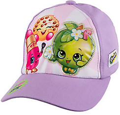 Child Purple Shopkins Baseball Hat