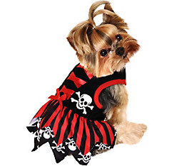 Red Pirate Dog Costume