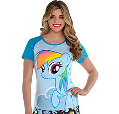 Rainbow Dash Fitted T-Shirt - My Little Pony