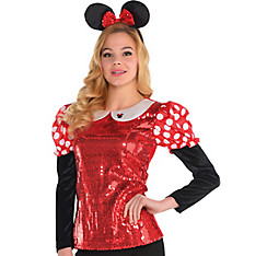 Sequin Minnie Mouse Shirt