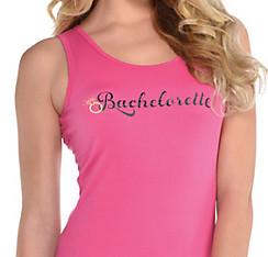 Pink Bachelorette Tank Top - Sassy Bride